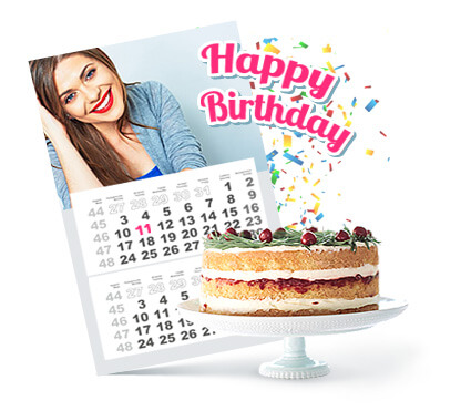 Want to design your own birthday calendar?