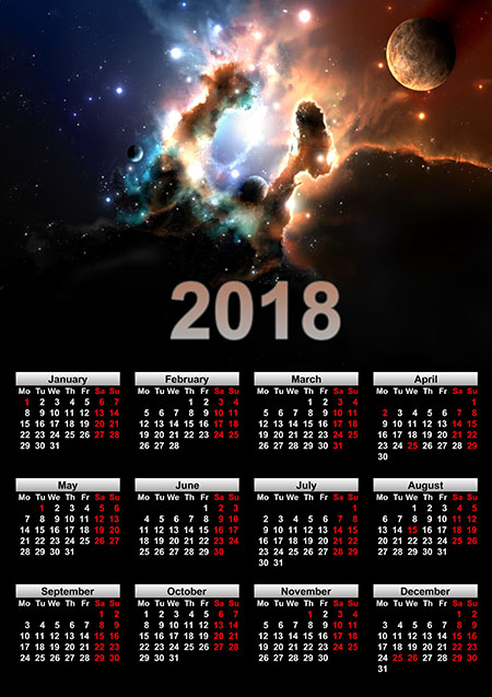 Calendar Wallpaper Program : Photo calendar examples annual monthly lunar