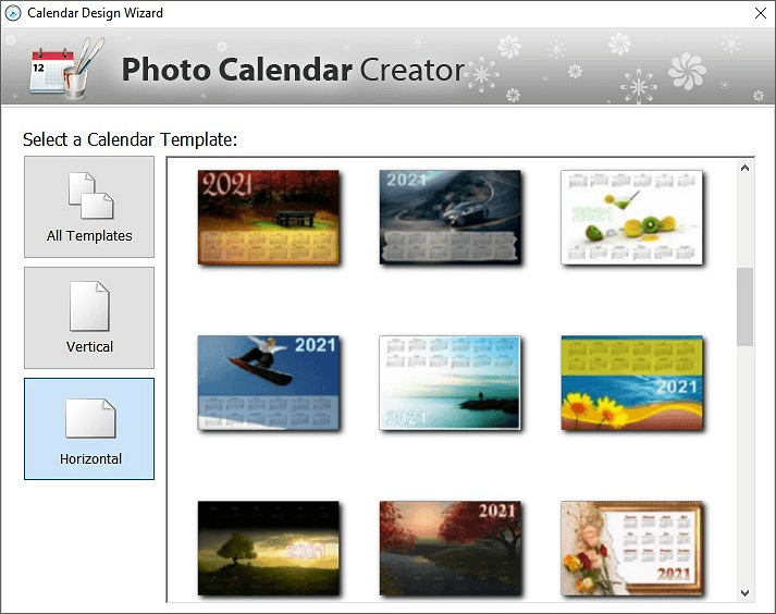 Make your own photo calendars 2019 custom design in 5 for Make my own calendar template