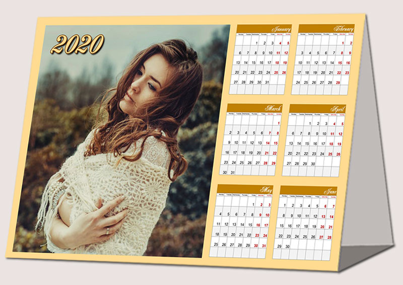 Desk Calendar Design Your Own : Make your own photo calendars custom design in