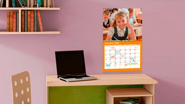 2019 Photo Calendar Templates for Custom Calendar Design