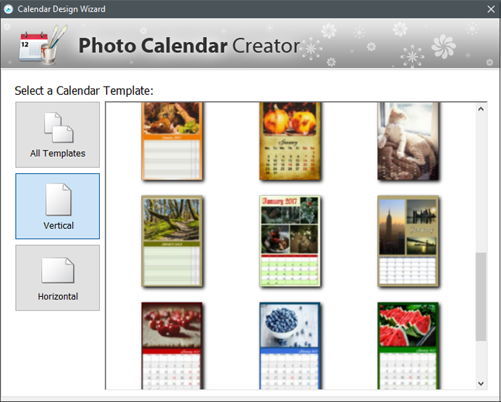 Make A Perpetual Birthday Calendar Photo Calendar Creator