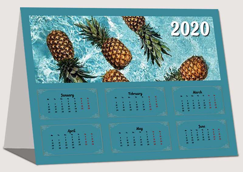 Personal Desk Calendars With Photos Best Home Design 2018